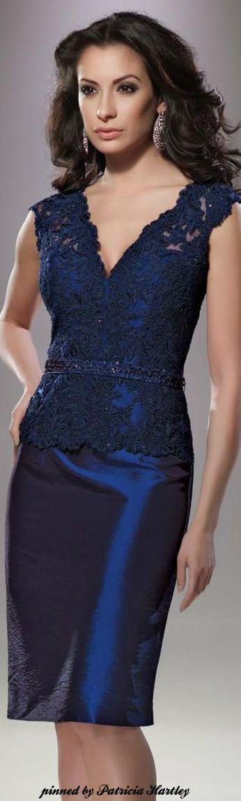 Mon Cheri women fashion outfit clothing style apparel @roressclothes closet ideas