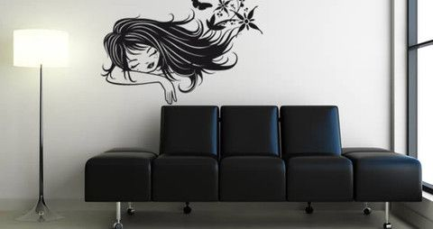 A lovely and romantic vinyl wall art If you are looking for a quick and easy way to decorate your office or home, I think you just found it!   Visit this link for more designs: https://limelight-vinyl.myshopify.com/