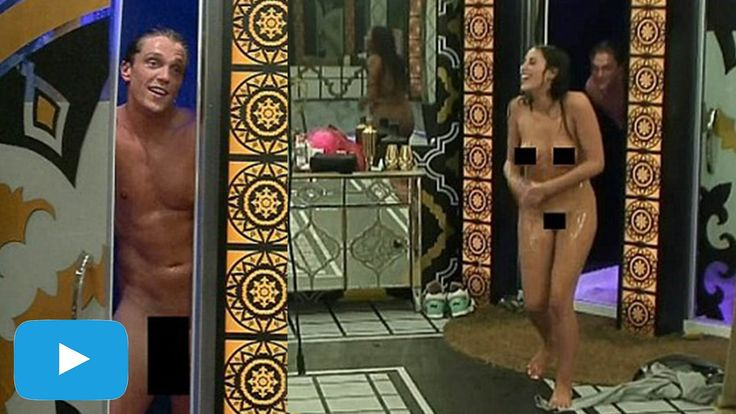 Big Brother's Marnie Simpson And Lewis Bloor Steamy Shower