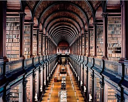 ..: Libraries, Books, Favorite Places, Colleges, Dublin Ireland, Trinity College, Space