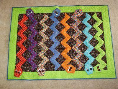 19 Best Quilts Snake Images On Pinterest Snake Snakes