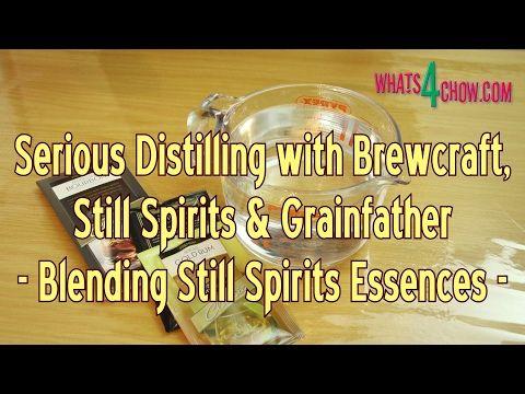 Serious Distilling with Brewcraft, Still Spirits & Grainfather - Blendin...