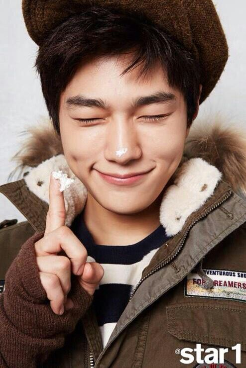 Myungsoo for Star 1 January 2015