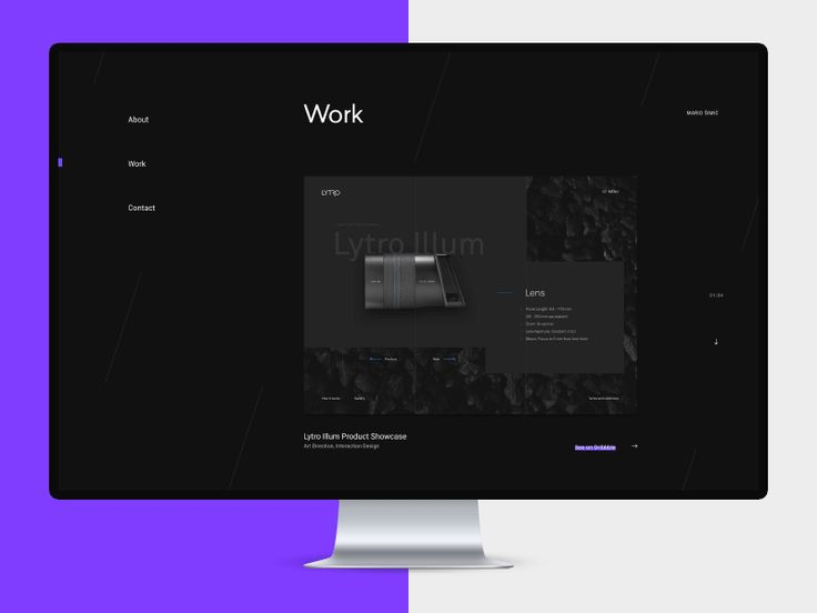 Hello, people!  I have done some experimenting on the personal project. This is the third shot for personal portfolio website where i tried some things i have been waiting to use some time now.  Ho...