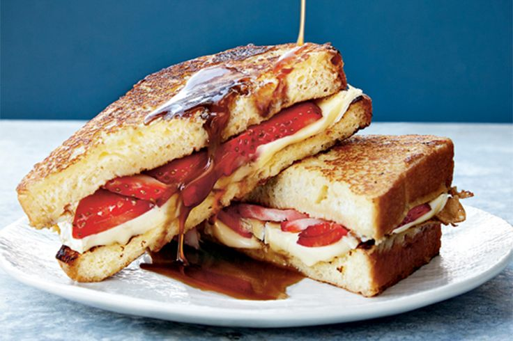 Update your brunch menu with this sweet and savoury grilled cheese from Heidi Gibson and Nate Pollak's new cookbook Grilled Cheese Kitchen.