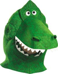 Adult Rex Headpiece Toy Story Costumes