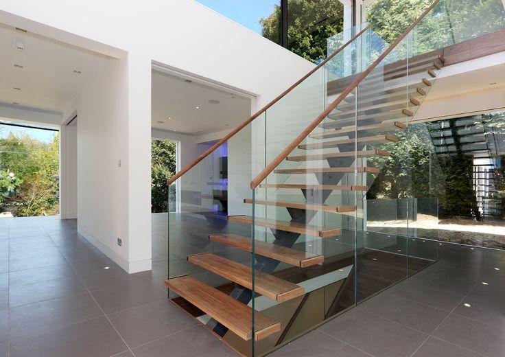 #Stairs, #modern, #Surrey, #Hallway, #Interior