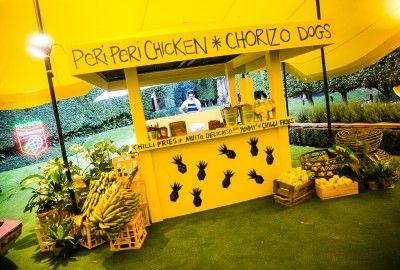 Viva La Fiesta Yellow Pop Up Restaurant by @azbcreative
