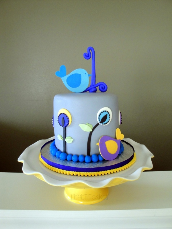 Blue Macaw Birthday Cake Image Inspiration of Cake and Birthday