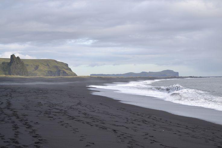 black beach of Vík
