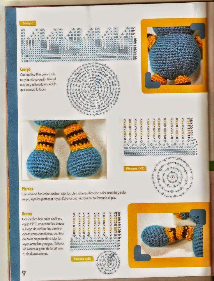 23 best Proyectos que intentar images on Pinterest | Toys, Amigurumi ...