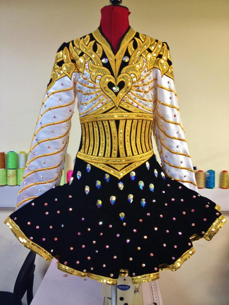 295 Best Irish Dance Solo Dresses Images On Pinterest