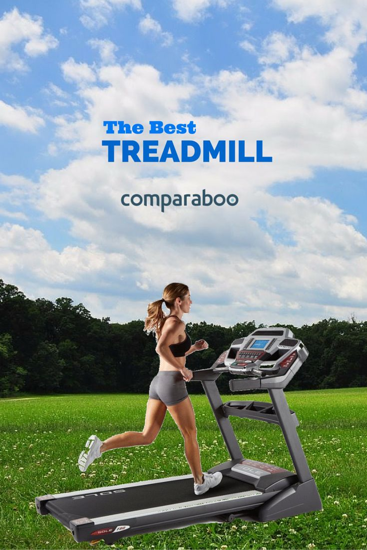 You'll run like the wind with the Sole Fitness F80 Folding Treadmill, the Top-Rated Treadmill on Comparaboo! www.comparaboo.com
