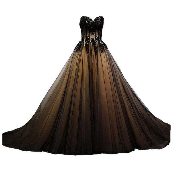 Black or gold dresses