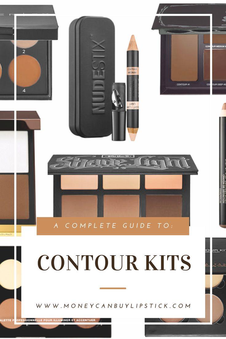 Guide To Contour Kits. Best Contour Kits and Contour Palettes.