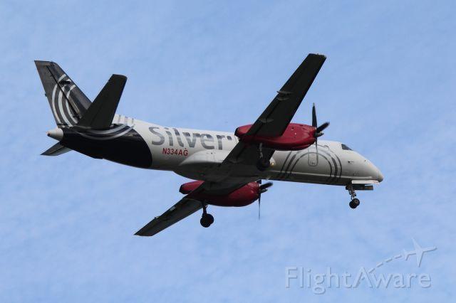 Photo of SIL Saab 340 (N334AG) ✈ FlightAware