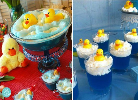 Rubber Ducky Shower Punch and Rubber Ducky Jello's