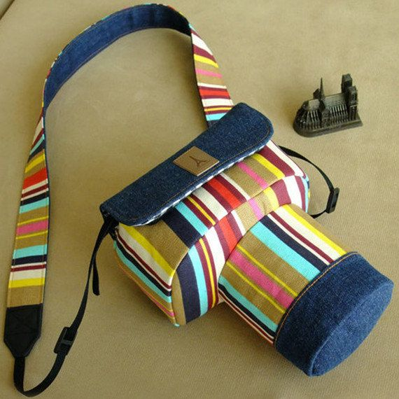 Handmade DSLR SLR Camera Case Bag for Canon Nikon - Cotton DSLR Camera Case Bag