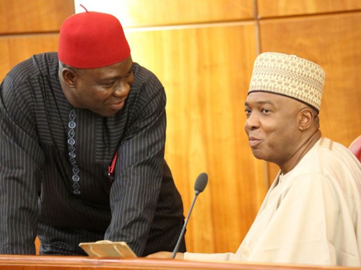 FG drops forgery charges against Saraki & Ekweremadu > The Federal Government has filed a motion to drop the charge of criminal conspiracy and forgery of