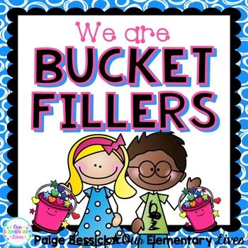 Bucket Fillers Activities.  Everything you need to teach being a Bucket Filler.  Includes mini-posters, class activity and bulletin board set.