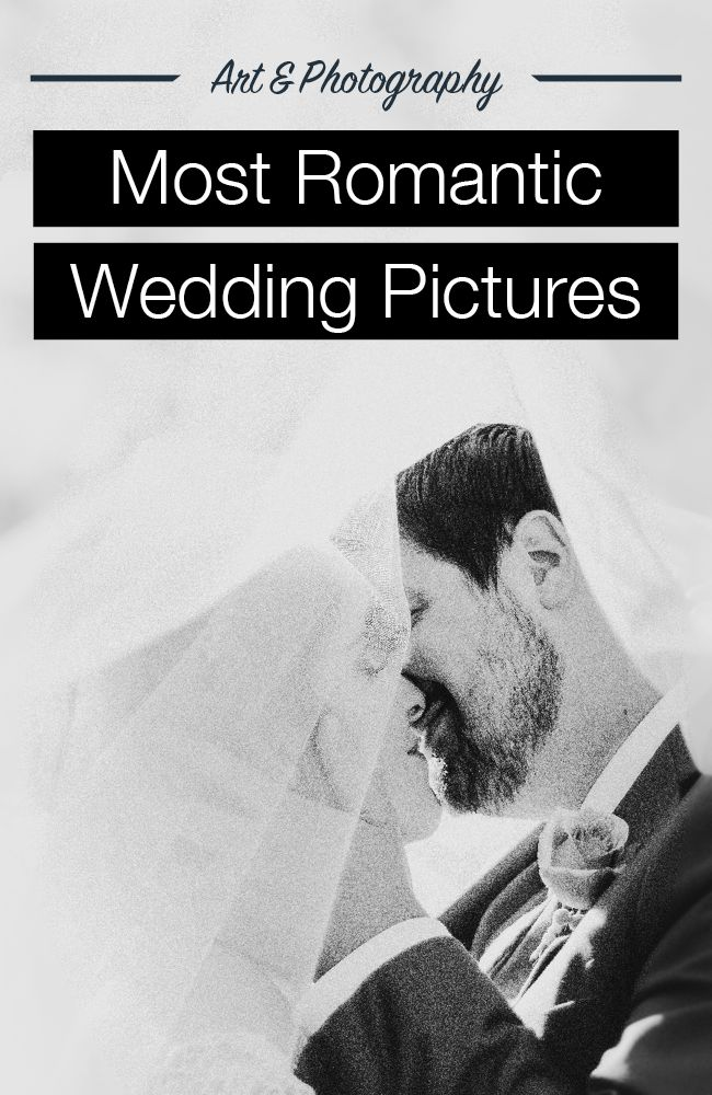 Take a look at the most romantic wedding photography!