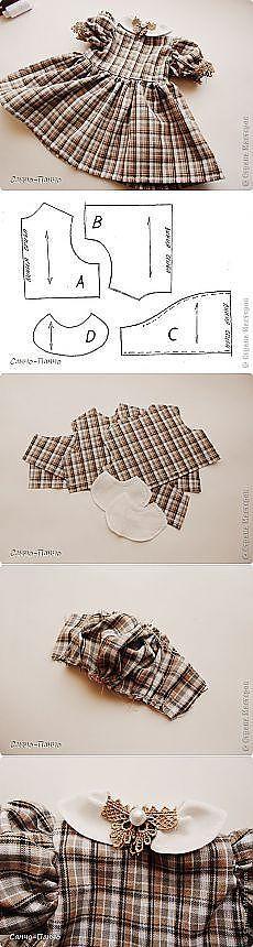 Couture robe enfant - Tuto avec diagrammes