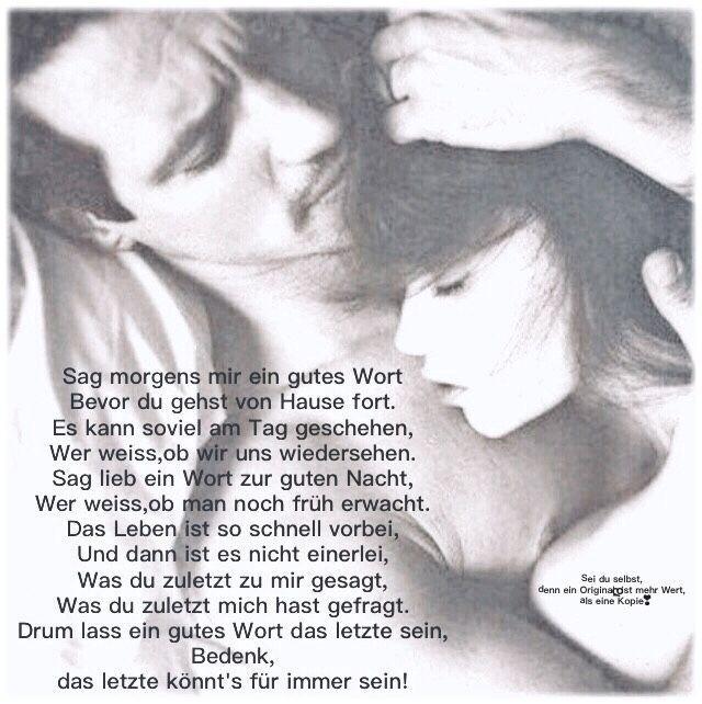 Schatz mein dich hab lieb Gute Nacht
