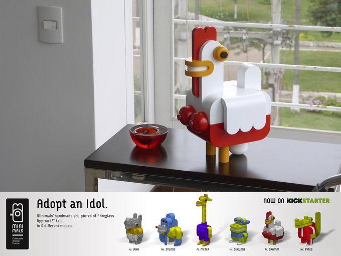 Minimals, Collectible Animal Puzzle by Extravia — Kickstarter
