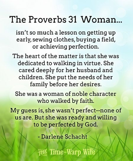 Free Printable - The Proverbs 31 Woman | Time-Warp Wife - Empowering Wives to Joyfully Serve