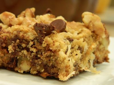 KEEPER: Primal Grain free blondies // OMG THESE ARE AWESOME GOOD! The only change I made was to use 1.5Tbsp Splenda + 1.5Tbsp Coconut Palm Sugar instead of the Agave Syrup; followed the rest of the recipe exactly. We totally RAVED.