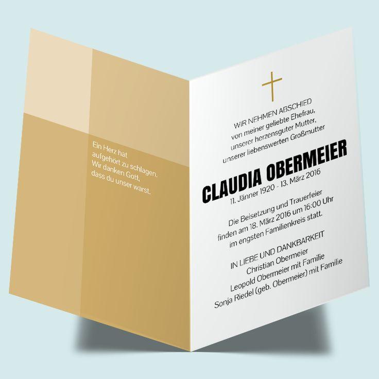 the 9 best images about trauerkarten - einladungen zum trauerfest, Kreative einladungen