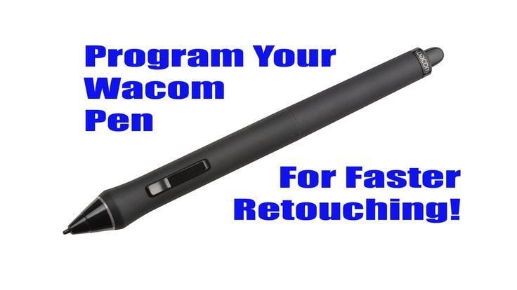 Program Your Wacom Intuos 4 Pen For Faster Retouching In Photoshop