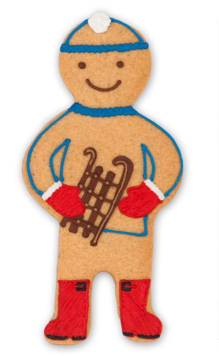 Bob Sleigh Jolly Ginger #biscuiteers