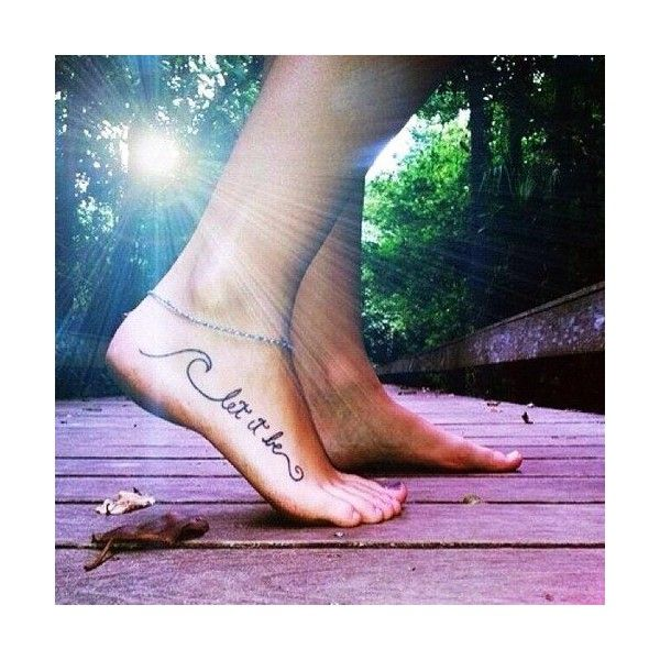 Love Tattoo so much! Find inspiring Cute,Hippie,Black,Print,Beach,Party,Date, Tattoo. Charming Black Foot Quote Tattoos for Girls - Best Foot Quote Tattoos for…