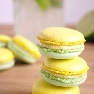 Macarons mojito pour le Foodista Challenge #6