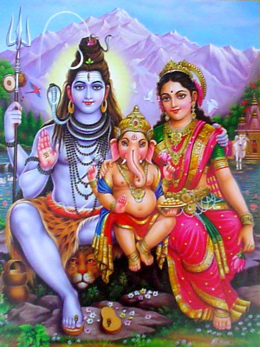 Lord Shiva Family