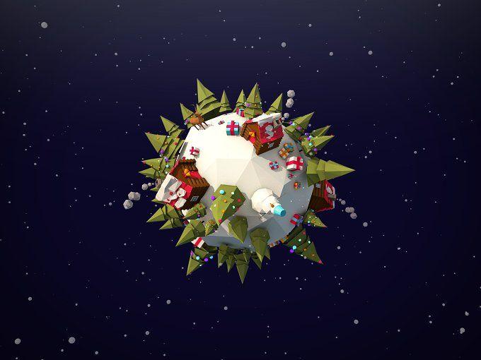Winter Planet Asset by Anton Moek