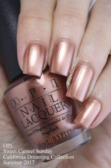 The 25 best copper nails ideas on pinterest chrome rose gold new metallic nail art design trends lucky bella prinsesfo Choice Image