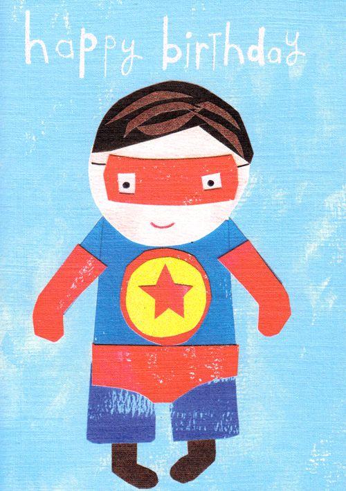 Superboy 'Happy Birthday' Card