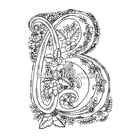 73 best Adult Coloring Pages images on Pinterest Doodles, Coloring - best of coloring pages for adults letter a