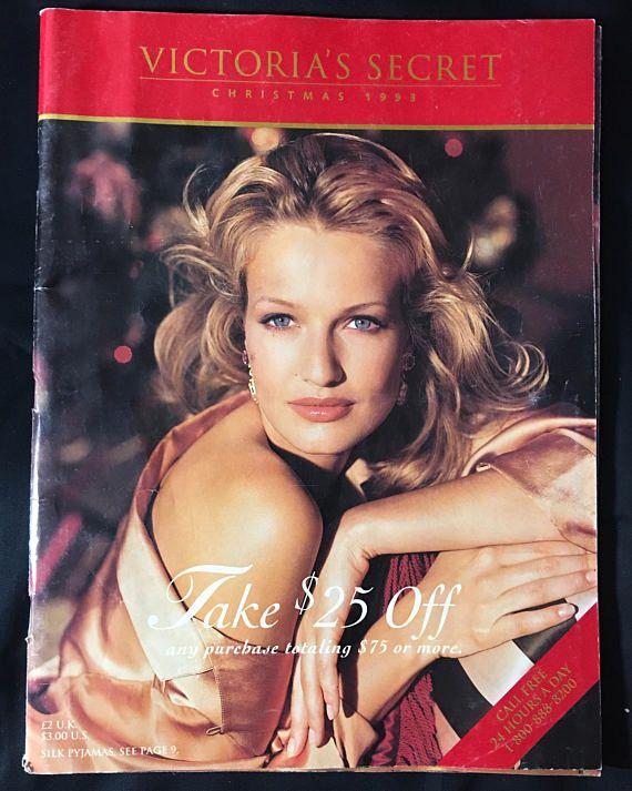 1993 Victoria's Secret Catalog Christmas