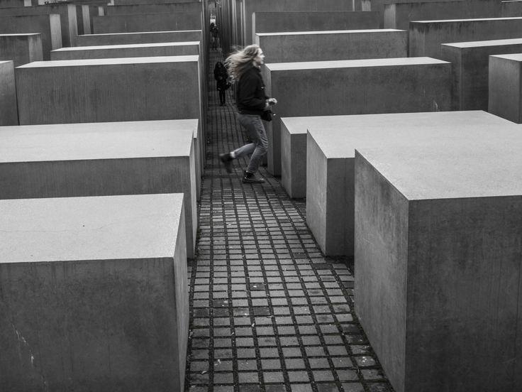Memorial to the Murdered Jews of Europe, Berlin, Germany - 19.2.2017 #memorial #jews #jew #europe #berlin #germany #nemecko #deutschland
