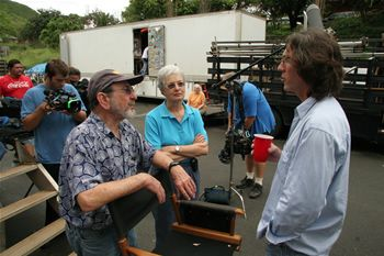 """Journeys Below the Line.Michael Bonvillain  in the set of """"Lost"""""""