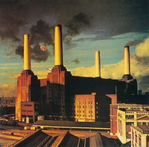 Pink Floyd: Animals - One of my favorite Floyd albums and one of their best album covers. It's dark, gritty, surreal, political & psychedelic... Just like the music contained within.