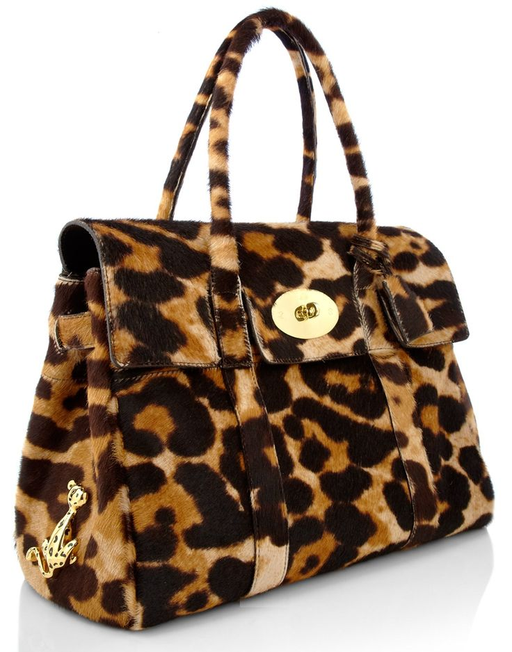 MULBERRY Leopard print bag ~ perfectly what I need this season!