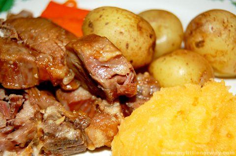 Pinnekjøtt - A Norwegian Dish Suggested by Andrew Q.
