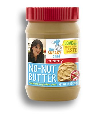 All-new Sneaky Chef No-Nut Butter (peanut butter alternative) now available!! 100% peanut-free, soy-free, nut-free & tastes just like peanut butter!