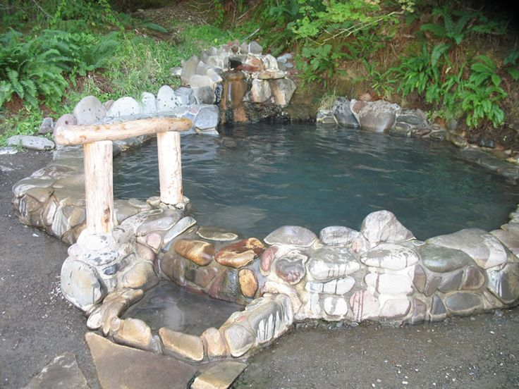Breitenbush Hots Springs in Oregon, warm meadow pool.