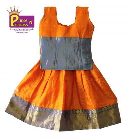 Kids Pure Kancheepuram silk pavadai langa .. BUY at www.princenprince... . ... Kids Frock, Gown , pattu pavadai, pattu langa, Dhavani, Lehenga, Chudidhar, silk frock,.. #kids #choli #pattu #pavadai #girls #silk #traditional #designer #creative #indian #lehenga #kidswear #skirt #trendy #children #clothes #new #stylish #dresses #partywear #apparel #fashion #readymade #girl #dress #langa #voni