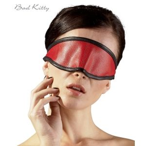 Masca pentru ochi Bad Kitty rosu